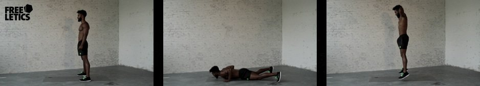 Freeletics Burpees