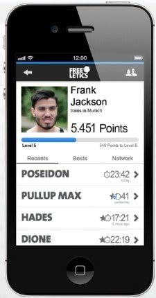 Freeletics App Beispiel-2
