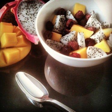Freeletics Rezept Fruchtsalat Nachspeise