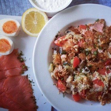 Freeletics Rezept Hauptmahlzeit Lachs Ei