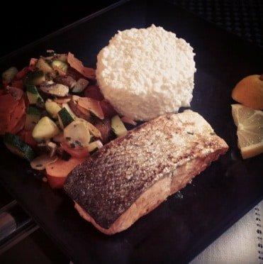 Freeletics Rezept Hauptmahlzeit Lachs