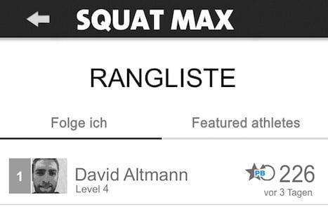 squat max freeletics training
