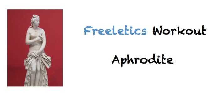 freeletics aphrodite workout