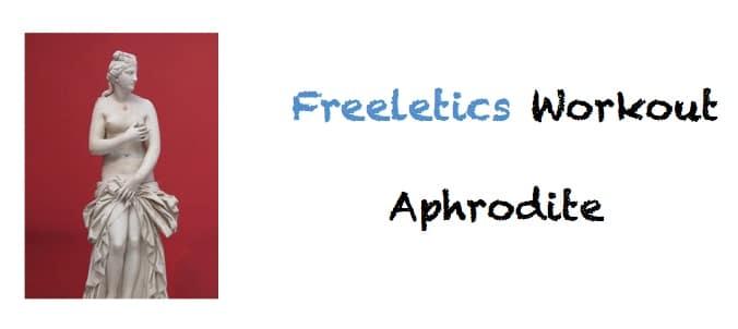 freeletics aphrodite workout