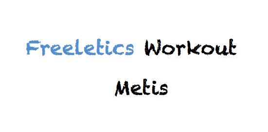 freeletics metis workout kostenlos