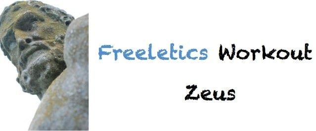 freeletics workout zeus kostenlos