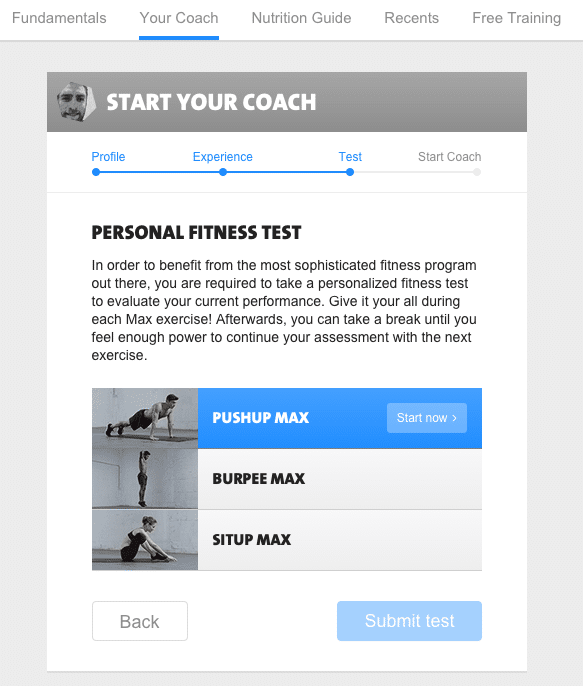 freeletics fitness test-1