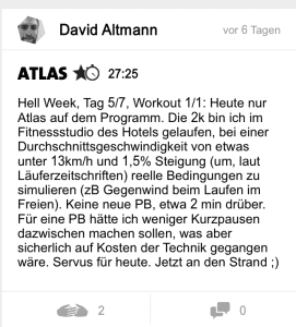 freeletics hell week tag 5 atlas