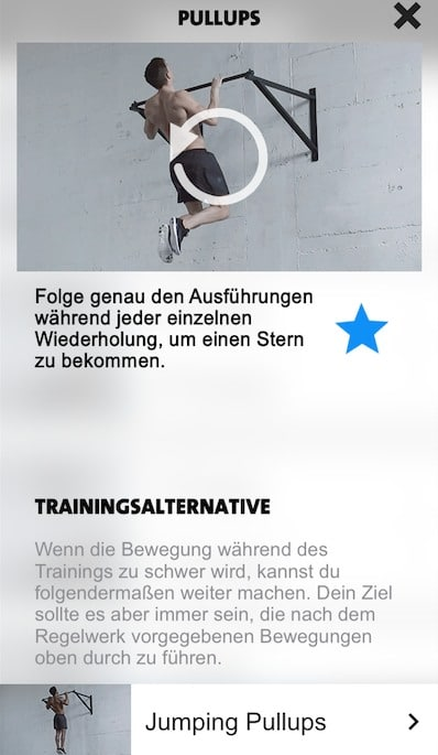 freeletics upgrade trainingsalternative