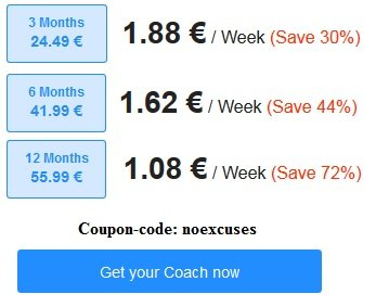 Freeletics Coupon january 2015