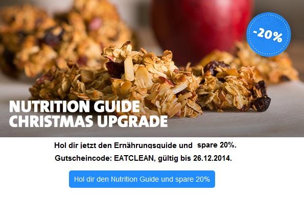 Freeletics Ernährungsguide 20% Rabatt