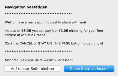 Athletic Greens Rabatt