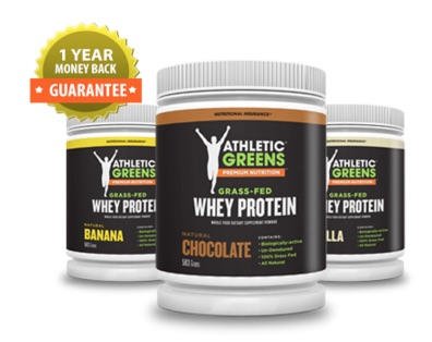Athletic Greens Eiweiss Pulver Whey