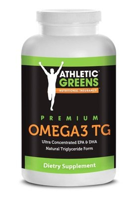 Athletic Greens Fischöl Omega 3 Kapseln