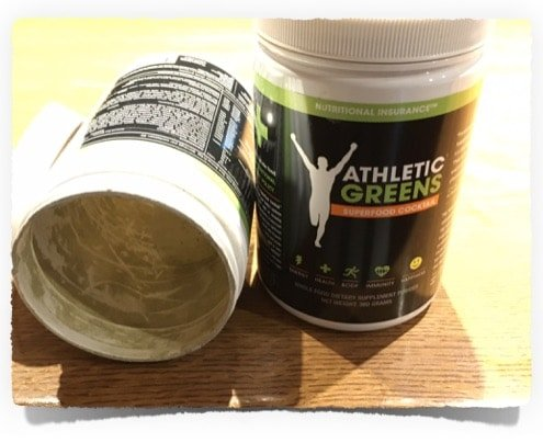 Order Athletic Greens when empty