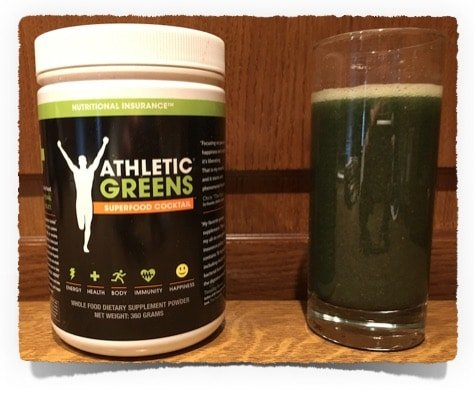 Athletic Greens box