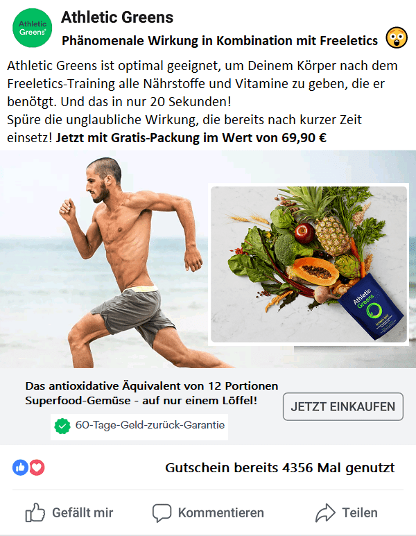 Freeletics Vegan